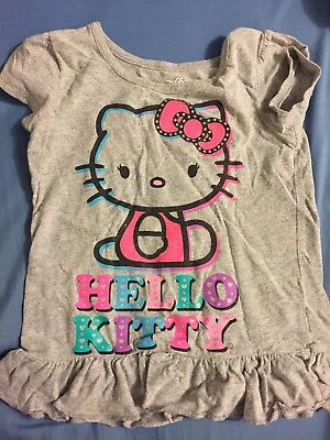 Toddler Girl Hello Kitty Top Size 4t