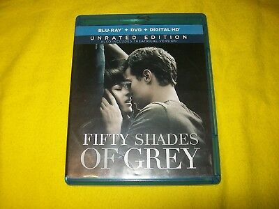 Fifty Shades Of Grey Bluray Unrated Edition