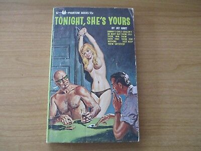 Tonight, She's Yours by Jay Hart,Cover Artist: Norman Saunders,Phantom 52