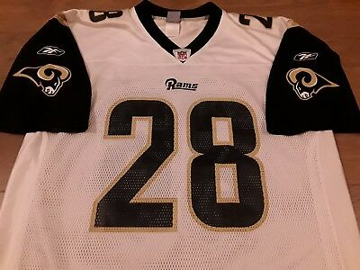 LA Rams NFL On Field Jersey - Faulk #28 - Adult Large - Fab Condition