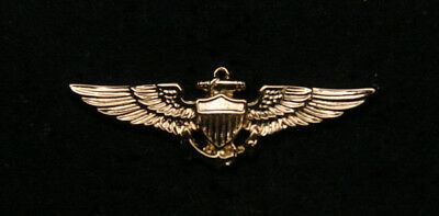 Mini Us Naval Pilot Wing Lapel Pin Up Us Marine Navy Coast Guard Aviator Topgun