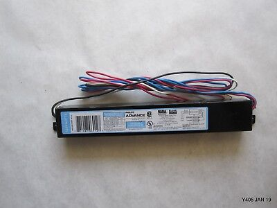 One Philips Advance Electronic Ballast, T8 Lamps,120 / 277V (PN ICN-2P32-N)