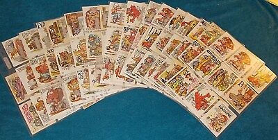 143 ODD & ODDER RODS Trading Card Stickers DONRUSS From The 1970s