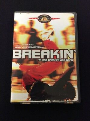 Breakin DVD Full Screen Lucinda Dickey