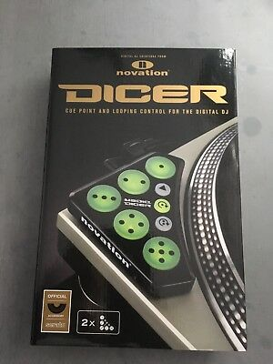 Novation Dicer Cue Point And Looping Control For Digital DJ