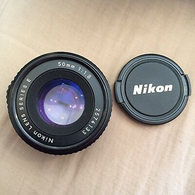 Nikon Lens Series E 50mm 1:1.8 Nice! Great Condition