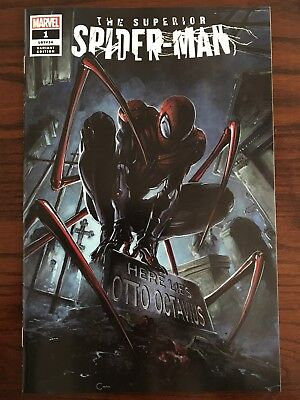 SUPERIOR SPIDER-MAN #1 Clayton Crain Trade 2018 Variant Marvel 1st Print New NM
