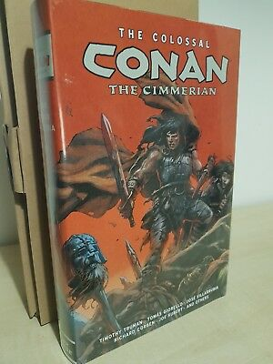 Colossal Conan the Cimmerian Omnibus Oversized Hardcover Deluxe Edition