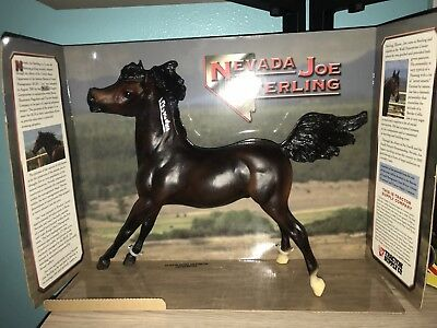 NEW Breyer Horse 300102 Nevada Joe Sterling 2002 Tractor Supply Limited Edition.