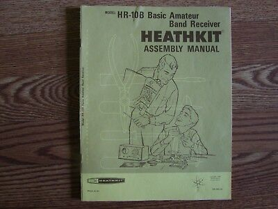 Hr-10B  Heathkit Original Manual