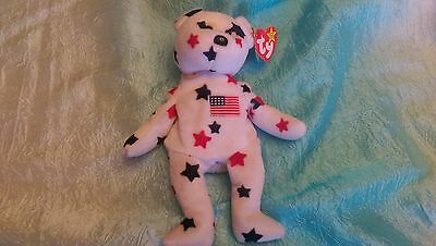 """Ty Beanie Babies Baby """"Glory"""" Rare Retired 1997 DOB with 1998 tag."""