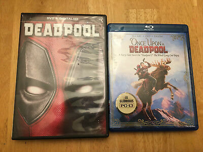 Deadpool 2 - Once Upon A Deadpool (Blu-ray/DVD) No Digital + Deadpool DVD