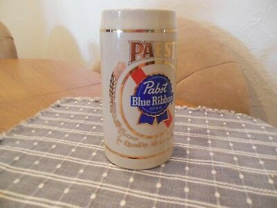 Pabst Blue Ribbon Beer Stein