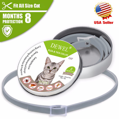 DEWEL 33CM Seresto Collar CATS Tick And Flea Treatment 8 Months Protection USA