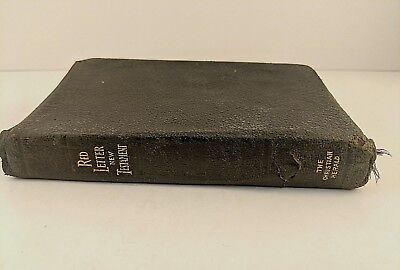 Antique King James Version New Testament Bible Louis Klopsch Christian Herald