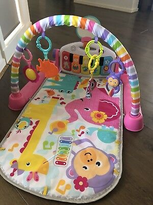 Fisher - Price Kick and Play Piano, Pink