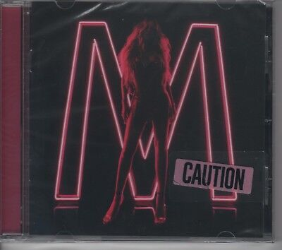 Mariah Carey CAUTION Official USA CD Ltd Edition PINK Cover ***SEALED***.