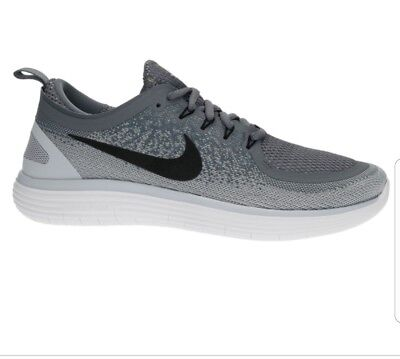official photos 41766 93ad5 Size 8.5 Mens Nike Free RN Distance 2 Running Shoes 863775-002 Gray retail  120