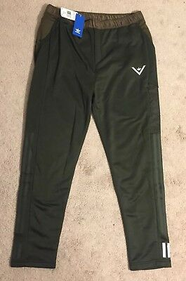 6d4a82c62592 ADIDAS x White Mountaineering Green Athletic Track Pants NEW Men s Large   180