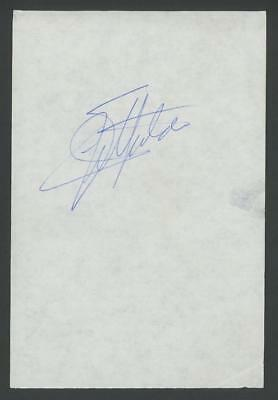 EMERSON FITTIPALDI signed album page (Racing - AUTOGRAPH)