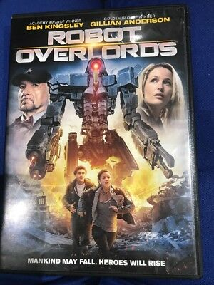 Robot Overlords DVD Widescreen Gillian Anderson Ben Kingsley