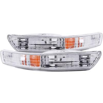 Sold in Pairs Anzo USA 511038 Chevrolet S10 Chrome Euro w//Amber Reflector Parking Light Assembly