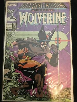 Marvel Comics Presents Wolverine #1 (Sep 1988, Marvel)
