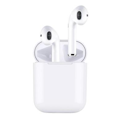 New Bluetooth Premium Airpods Style Wireless Earbuds w/ Charging Case Headphones