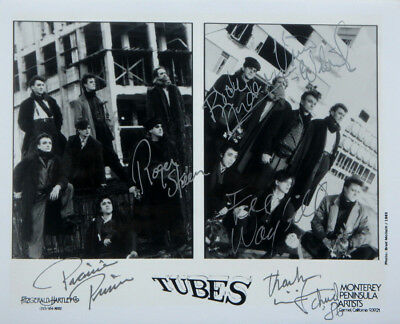 """Fee Waybill THE TUBES Signed Autographed Promo 8"""" X 10""""  Rock Publicity Photo"""