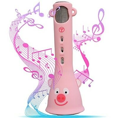 Wireless Bluetooth Karaoke Microphone for Kids Teenager Birthday Valentines Gift