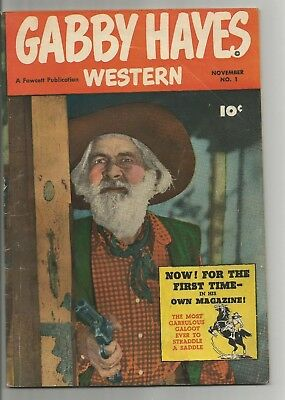 2GABBY HAYES WESTERNS  #1 and #10  Very Good / Fine 5.0