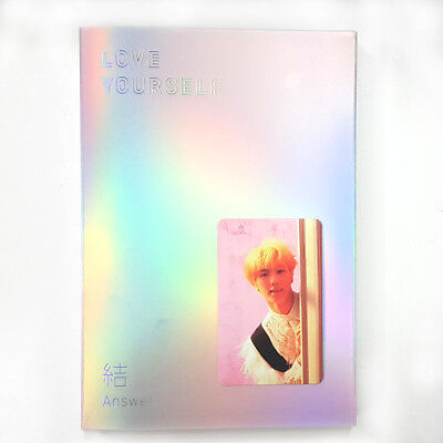 Bts Jin Official Photocard Love Yourself 結 Answer E