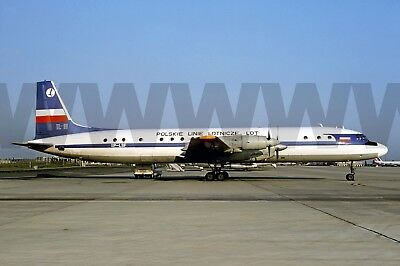 Aviation , Photo , Military, Aircraft .IL18_LOT_SP-LSF CDG 30-05-1977