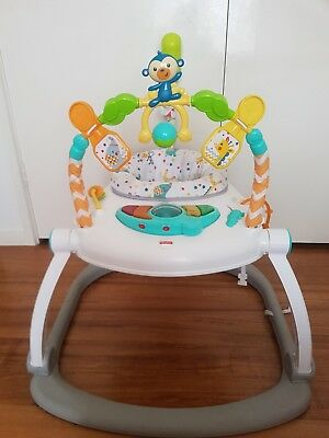 Fisher-Price Colourful Carnival SpaceSaver Jumperoo Baby Boy Girl Child Safe