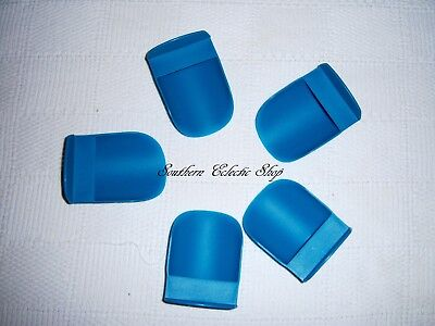 Tupperware Rocker Scoops for Canisters Modular Mates Flour Sugar Dry Beans Teal