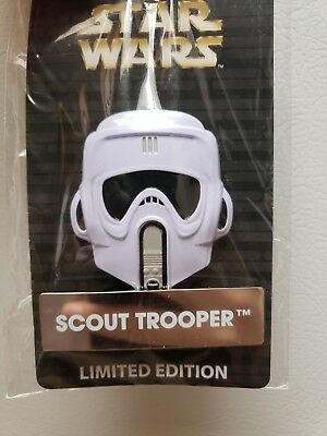Disney Star Wars Pin of the Month Scout Trooper Helmet Mask LE 4000 New Pin