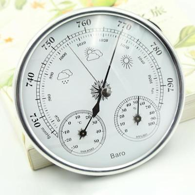 New Analog Temperature Meter Humidity Gauge Hygrometer Indoor Thermometer