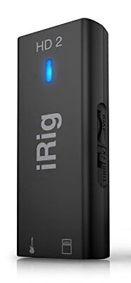 IK Multimedia iRig HD 2 High sound quality guitar / base interface From... Japan