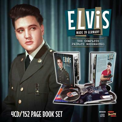 ELVIS PRESLEY 'MADE IN GERMANY' (Complete Private Recordings) 4 CD + BOOK (2019)