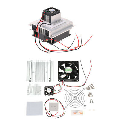 DIY Thermoelectric Peltier Refrigeration Cooling System Kit Semiconductor O6H0