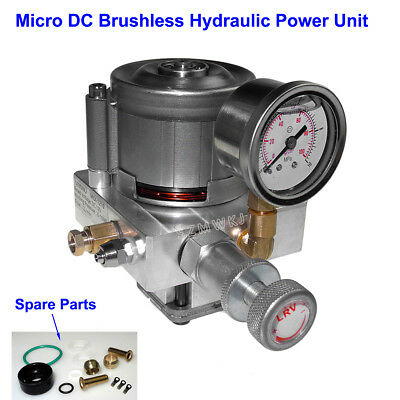 Brushless Single Acting Hydraulic Pump Power Unit DC 12V Oil Pump Pack Kit Lift