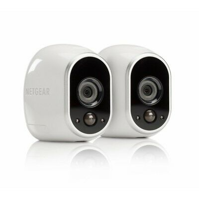 Arlo Security System By Netgear - 2 Wire-Free Hd Cameras, Indoor/Outdoor, Night