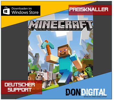 🔥 Minecraft - Windows 10 Edition [CD-Key] [EU/DE] PC Spiel Download Code Key 🔥