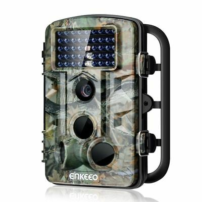 ENKEEO PH730S Trail Camera 1080P 12MP HD Wildlife Game Hunting Cam with 42PCS 84