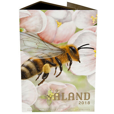 Aland  2018   year collection     mnh                                    G