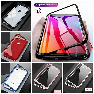 Magnetic Absorption Shockproof Phone Case Cover For iPhone 6 7 8 X XR X-MAX Plus