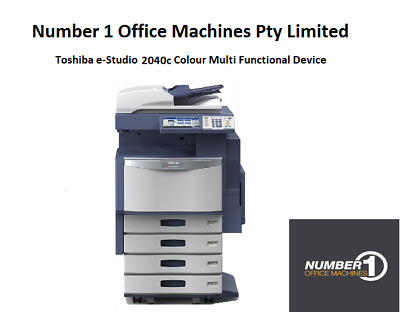 Toshiba e-Studio 2040C Colour Copier, Network Print, Scan, email, USB Port
