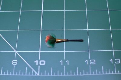Dolls House Miniature 1/12th Scale Wooden Feather Duster Fine Quality