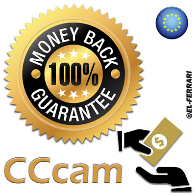 CCcam Premium Server 12 MONTHS (FREE TEST) Europe Cline Stable 100% Positive