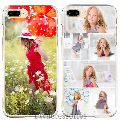 Personalised Custom Photo Phone Clear Case  For Apple iPhone 6 6s 7 8 7  8 Plus